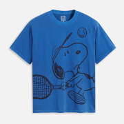 Levi's X Peanuts Women's Graphic Relaxed Oversized T-Shirt - Blue