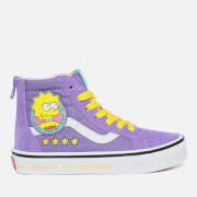 Vans X The Simpsons Kids' Sk8 Hi-Top Trainers - Lisa 4 Prez