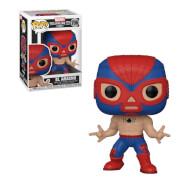 Marvel Luchadores Spider-Man Pop! Vinyl