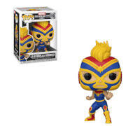 POP Marvel: Lucha Libre- Captain Marvel