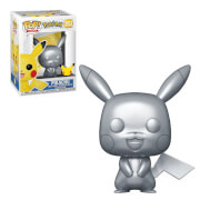 Pokemon Pikachu (Silver Metallic) Funko Pop! Vinyl