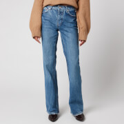 Free People Women's Laurel Canyon Flare Jeans - Wilson Blue
