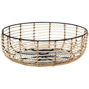 Broste Copenhagen Iron & Cane Basket - Medium