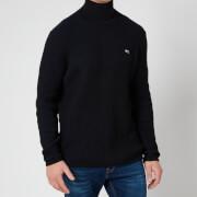 Tommy Jeans Men's High Mockneck Sweatshirt - Black