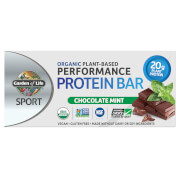 Garden of Life Sport Organic Plant - Based Protein Bar - Chocolate Mint - 12 Bars