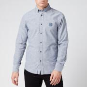 BOSS Men's Mabsoot 1 Shirt - Dark Blue