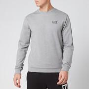 Emporio Armani EA7 Men's Chest Logo Sweatshirt - Grey