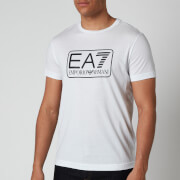 Emporio Armani EA7 Men's Large Logo T-Shirt - White