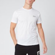 Emporio Armani EA7 Men's Small Logo T-Shirt - White