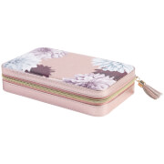 Ted Baker Women's Large Zipped Jewellery Case - Metallic Pink / Clove