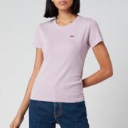 Levi's Women's Short Sleeve Rib Baby T-Shirt - Lavender Frost