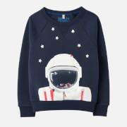 Joules Kids' Ramble Crewneck Sweatshirt - Navy