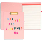 Ban.do Get It Together Clipboard Folio - Say Yes