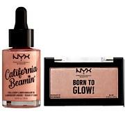 NYX Professional Makeup Blinding Glow Set - Rose Gold