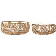 Bloomingville Rattan Basket - Set of 2