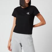 Calvin Klein Women's Short Sleeve Crewneck T-Shirt - Black