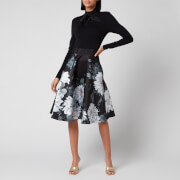 Ted Baker Women's Jordynn Clove Full Skirted Dress - Black