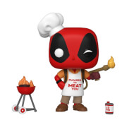 Figura Funko Pop! - Deadpool Con Barbacoa (Backyard Griller) - Marvel: Deadpool 30º Aniversario