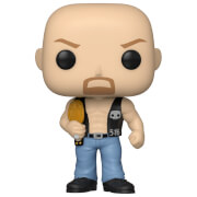 WWE Stone Cold Steve Austin Con Cintura (MT)