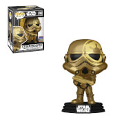 Star Wars Artist Series Golden Stormtrooper Wonderous Con EXC Funko Pop! Vinyl