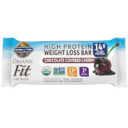 Garden of Life Organic Fit Plant-Based Bar - Chocolate Covered Cherry - 12 Bars