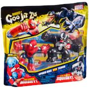 Heroes of Goo Jit Zu Marvel Versus Pack - Spider-Man VS. Venom