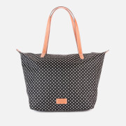 Radley Women's Pocket Essentials - Polka Spot Large Ziptop Tote Bag - Black