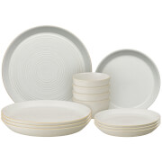 Denby Impression Cream 12 Piece Dining Set