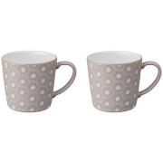 Denby Impression Pink Accent Large Mug (Set of 2)