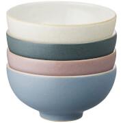Denby Impression Mixed Rice Bowls (Set of 4)
