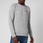 Superdry Men's Athletic Crewneck Sweatshirt - Soft Grey Marl