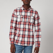 Superdry Men's Classic Lumberjack Shirt - Red Ensign Check