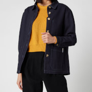 L.F Markey Women's Chore Coat - Navy