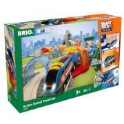 Brio Smart Tech Sound - Railway Action Tunnel Travel Set