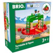 Brio Turntable & Figure