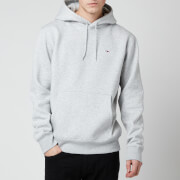 Tommy Jeans Men's Regular Fleece Hoodie - Light Grey Heather
