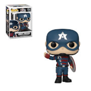 Marvel The Falcon and the Winter Soldier John Walker as Captain America Funko Pop! Vinyl