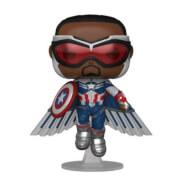 Marvel Falcon & Winter Soldier Captain America Flying EXC Funko Pop! Vinyl