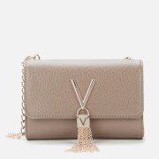 Valentino Bags Women's Divina Small Shoulder Bag - Taupe