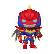 Marvel Mech Captain Marvel Figura Funko Pop! Vinyl