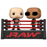 WWE The Rock vs Stone Cold in Wrestling Ring Pop! Moment