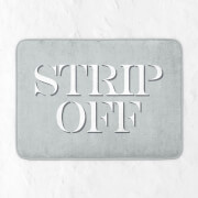 in homeware x Charlotte Greedy Strip Off Bath Mat