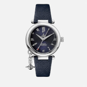 Vivienne Westwood Women's Orb Heart Watch - Blue/Silver