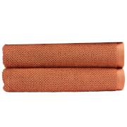 Christy Brixton Towel - Set of 2 - Terracotta
