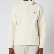 Polo Ralph Lauren Men's Vintage Fleece Mockneck Sweatshirt - Winter Cream