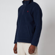 Polo Ralph Lauren Men's Vintage Fleece Mockneck Sweatshirt - Cruise Navy