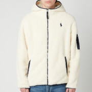 Polo Ralph Lauren Men's Curly Sherpa Full Zip Hoodie - Winter Cream