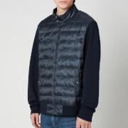 Polo Ralph Lauren Men's Double Knitted Full Zip Jacket - Navy Herringbone