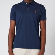 Polo Ralph Lauren Men's Interlock Pima Polo Shirt - Spring Navy Heather