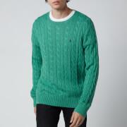 Polo Ralph Lauren Men's Cable Knit Jumper - Potomac Green Heather